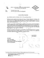 Müşavirlik/Daire Başkanlıkları Dağıtım Yazısı