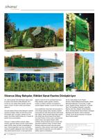 Silvanus Dikey Bahçeler, Bitkileri Sanat Eserine