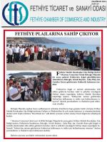 Sayı- 23 - Fethiye Ticaret ve Sanayi Odası