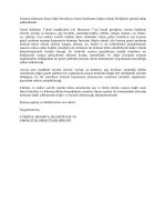Üçüncü Şahıslara Karşı Mali Mesuliyet Genel Şartlarına ilişkin