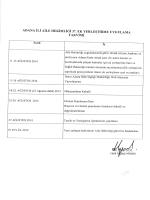 adana ili aile hekimliği 37. ek yerleştirme uygulama takvimi