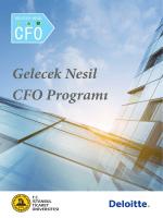 Gelecek Nesil CFO Programı - İstanbul Ticaret Üniversitesi