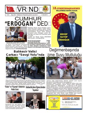 421 - bizim ivrindi gazetesi haber sitesi