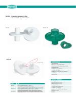 Tek Kullanımlık Spirometre Filtresi