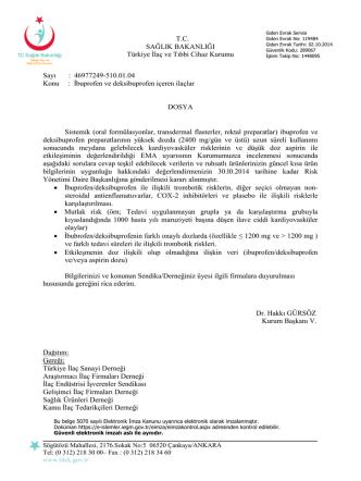 46977249-510.01.04 Konu : İbuprofen ve deksibu