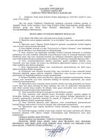 Sınavlarda Uyulması Gereken Kurallar - İlahiyat Fakültesi
