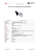 jd-130 ır ıp gece görüşlü ıp güvenlik kamerası