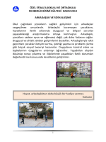 KASIM 2014 ARKADAŞLIK VE SOSYALLEŞME Okul çağındaki çoc