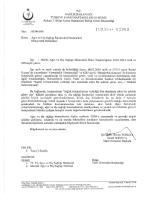 """î """"eti-s ili-fe Mr› - Ankara 1. Bölge Kamu Hastaneleri Birliği Genel"""