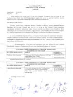 2014 Yılı İçindeki 25.06.2014 Karar Tarihli ve 03 Karar Numaralı
