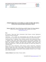 TÜRKĠYEDEKĠ BAYAN FUTBOLCULARIN FUTBOL BRANġINA