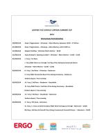 loryma summer cup 2014 program/programme