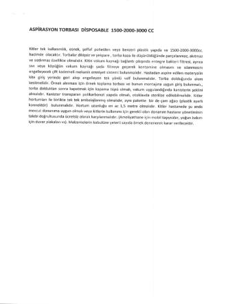 AsPiRAsYoN ToRBAsı DisPosABLE 1500-2000