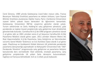 Cenk Gönenç - BAUSEM - Bahçeşehir Üniversitesi