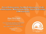 konulu Eğitime katılım - TC Gıda Tarım ve Hayvancılık Bakanlığı
