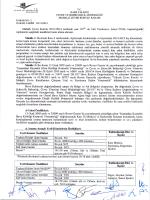 05.11.2014 mçk kararı - Çevre ve Şehircilik Bakanlığı