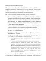 Butylated Hydroxyanisole (BHA) ve Kanser BHA, çeşitli gıdalarda