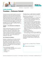 Tromboz – Pulmoner Emboli