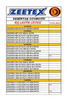 demirtaş otomotiv kış lastik fiyatları 01.09.2014