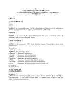 tc kastamonu belediye başkanlığı fen işleri müdürlüğü kuruluş
