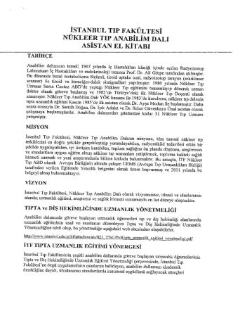 Asistan El Kitab - İstanbul Tıp Fakültesi