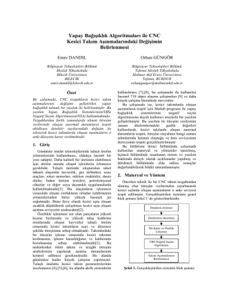 asyu-ınısta 2004 bildiri taslağı - Akademik ve Blog Sistemi Mehmet