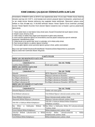 additional file 1 - Kocaeli Üniversitesi Sağlık Kültür ve Spor Daire