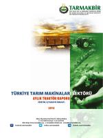 Traktör İstatistik Raporu