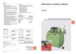 Etiket kesme ve katlama makinesi LCFR2