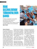 Irak Seçimlerinde Türkmenlerin ŞanSı