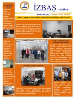 ızbas e-bulten 2014/5 yayınlandı