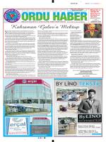 Sayfa 7 - Ordu Haber / Ordu İline Ait Haber Paylaşım Platformu