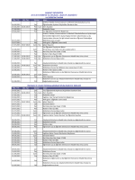 24.06.2015 Çar Enstitü, Fakülte, Konservatuvar ve Meslek