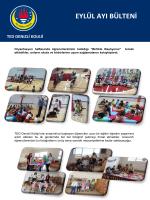 EYLÜL AYI BÜLTENİ - TED Denizli Koleji