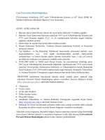 Gazi Üniversitesi Rektörlüğünden: Üniversitemiz birimlerine 2547