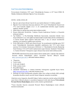 Gazi Üniversitesi Öğretim Üyesi İlanı 14.11.2014