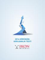 2014 GÖRÜNÜM: KIRILGANLIK TESTİ