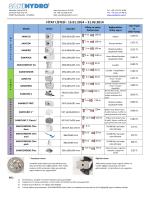 ocak - mart 2014 fiyat listesi v2