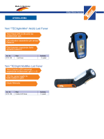 Yeni *TEClight-Mini* Akülü Led Fener