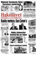 (17 eyl\374l.qxd) - Çorum Hakimiyet Gazetesi