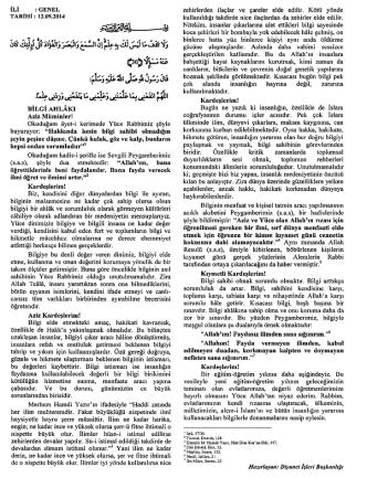 bilgi ahlâkı 12.09.2014 2014-09-12