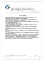 Lazer Uygulaması Bilgilendirme Broşürü