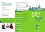 Sağlıklı çevre, - Health and Environment Alliance