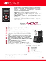 The rugged professional tool for TPMS
