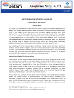 ArastirmaNotu172 - Betam - Bahçeşehir Üniversitesi