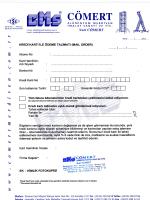 Mail Order Formu