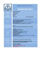 Bilgisayar Destekli Tasarım Kursu INVENTOR 2013