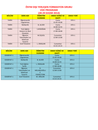 28-29 kasım 2014