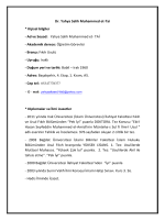 Özgeçmiş - Bartın Üniversitesi İslami İlimler Fakültesi