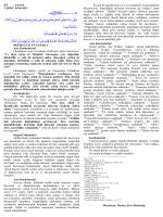 İLİ : GENEL TARİH : 04/04/2014 DOĞRULUK VE SADAKA Aziz